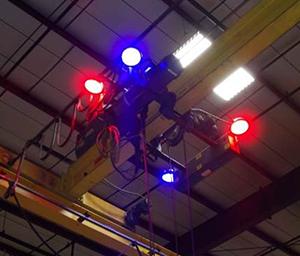 Quad light configuration
